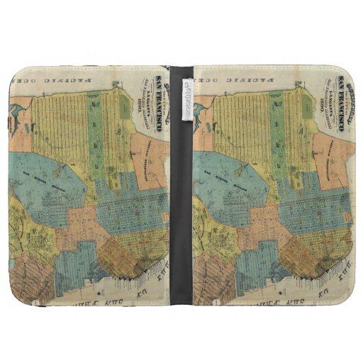 Mapa del vintage de San Francisco (1890)
