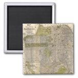 Mapa del vintage de San Francisco (1932) Iman