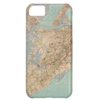 Mapa del vintage de Staten Island 1891