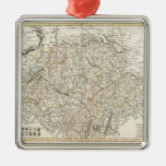 Mapa del vintage de Suiza (1771) Adornos
