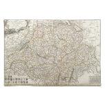 Mapa del vintage de Suiza (1771) Manteles