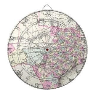 Mapa del vintage de Tejas (1855) Tabla Dardos