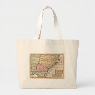 Mapa del vintage del Carolinas (1746) Bolsas