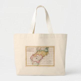 Mapa del vintage del Carolinas (1780) Bolsas