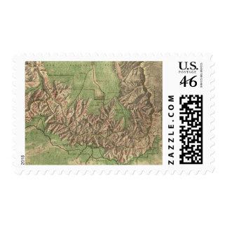 Mapa del vintage del Gran Cañón 1926