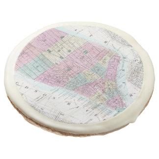 Mapa del vintage del Lower Manhattan (1865)