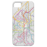 Mapa do Metrô de Paris - Capa de iPhone 5 Funda Para iPhone SE/5/5s