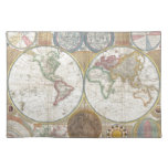 Mapa doble del hemisferio 1794