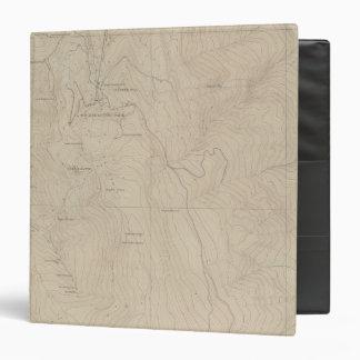 """Mapa especial del atlas del parque de Tourtelotte Carpeta 1 1/2"""""""