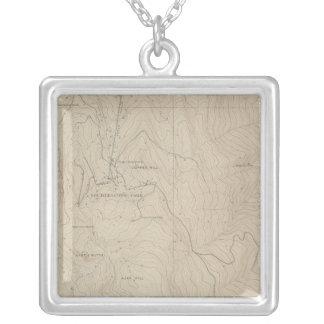 Mapa especial del atlas del parque de Tourtelotte Colgante Cuadrado