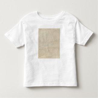 Mapa especial del atlas del parque de Tourtelotte Tshirts