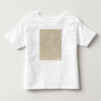 Mapa especial del atlas del parque de Tourtelotte Tee Shirts
