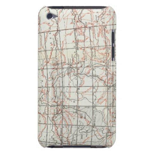 Mapa esquelético iPod touch Case-Mate carcasas