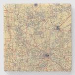 Mapa estándar de Minnesota Posavasos De Piedra