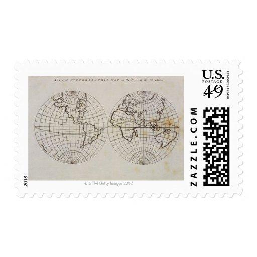 Mapa estereográfico envio