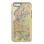Mapa etnográfico de Europa Funda Para iPhone 6 Plus Incipio Feather Shine