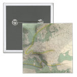 Mapa Europa de Hyetographic Pin