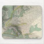 Mapa Europa de Hyetographic Tapetes De Raton