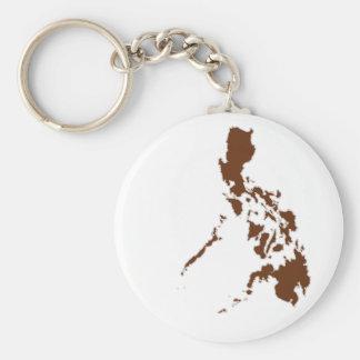 Mapa filipino llaveros personalizados