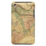 Mapa físico y mineralógico de Francia Barely There iPod Protector