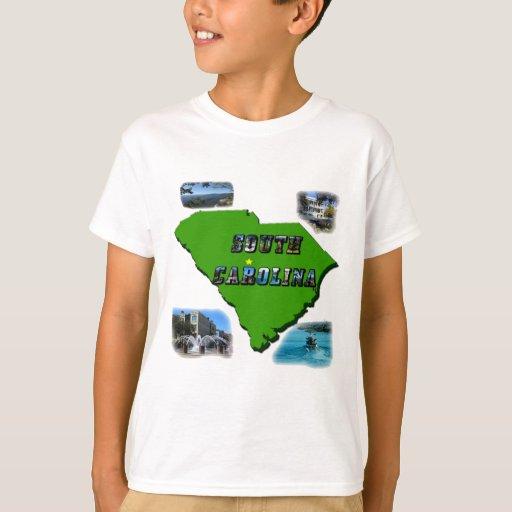 Mapa, fotos y texto de Carolina del Sur Playera