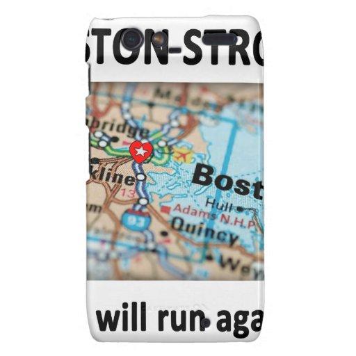 Mapa fuerte de Boston Droid RAZR Carcasa