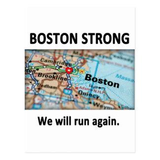 Mapa fuerte de Boston Postales
