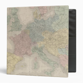 Mapa general de ferrocarriles europeos