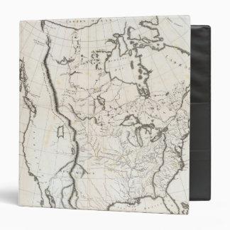 """Mapa general de Norteamérica Carpeta 1 1/2"""""""