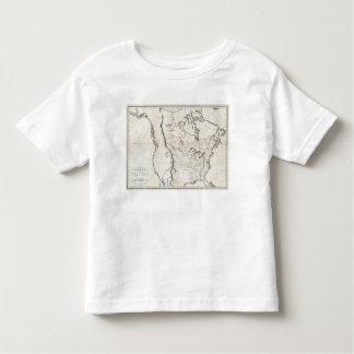 Mapa general de Norteamérica Polera