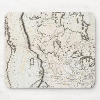 Mapa general de Norteamérica Tapetes De Ratón