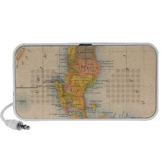 Mapa general ningunos 2 iPhone altavoces