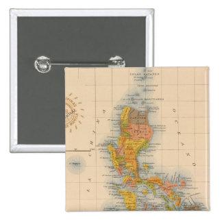Mapa general ningunos 2 pin cuadrada 5 cm