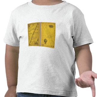 Mapa geográfico camisetas