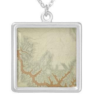 Mapa geológico compuesto de la meseta de Kaibab Collar Personalizado