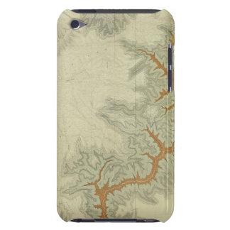 Mapa geológico compuesto de la meseta de Kaibab iPod Case-Mate Coberturas