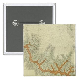 Mapa geológico compuesto de la meseta de Kaibab Pin