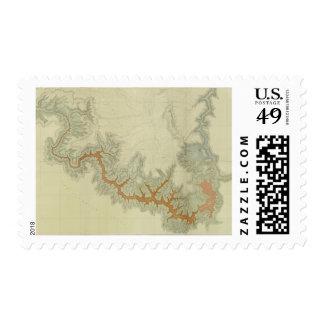 Mapa geológico compuesto de la meseta de Kaibab Sellos