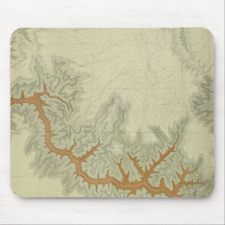 Mapa geológico compuesto de la meseta de Kaibab Tapete De Ratones