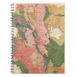 Mapa geológico de Colorado Libreta