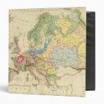 "Mapa geológico de Europa Carpeta 1 1/2"""