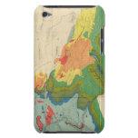 Mapa geológico de la parte occidental iPod Case-Mate cárcasa
