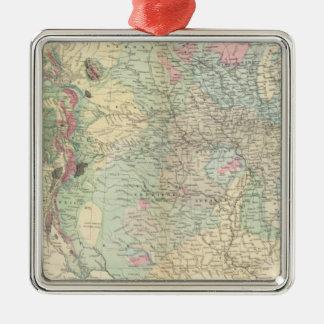 Mapa geológico de los E E U U Ornamentos Para Reyes Magos