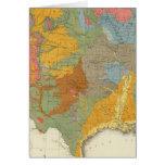 Mapa geológico de los E.E.U.U. Felicitaciones