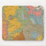 Mapa geológico de los E.E.U.U. Tapete De Ratón