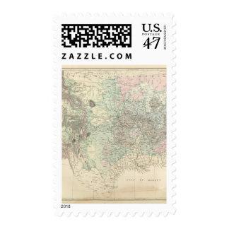 Mapa geológico de los Estados Unidos Sello