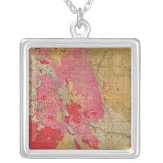 Mapa geológico de McNally del rand el nuevo Joyerías