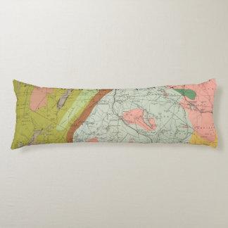 Mapa geológico de New Hampshire 3