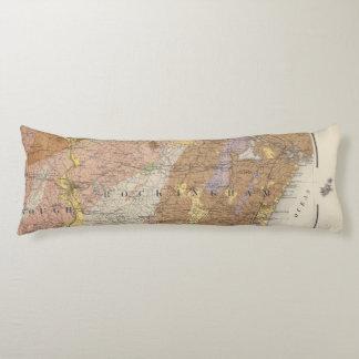 Mapa geológico de New Hampshire 4
