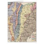 Mapa geológico de Ohio Felicitacion